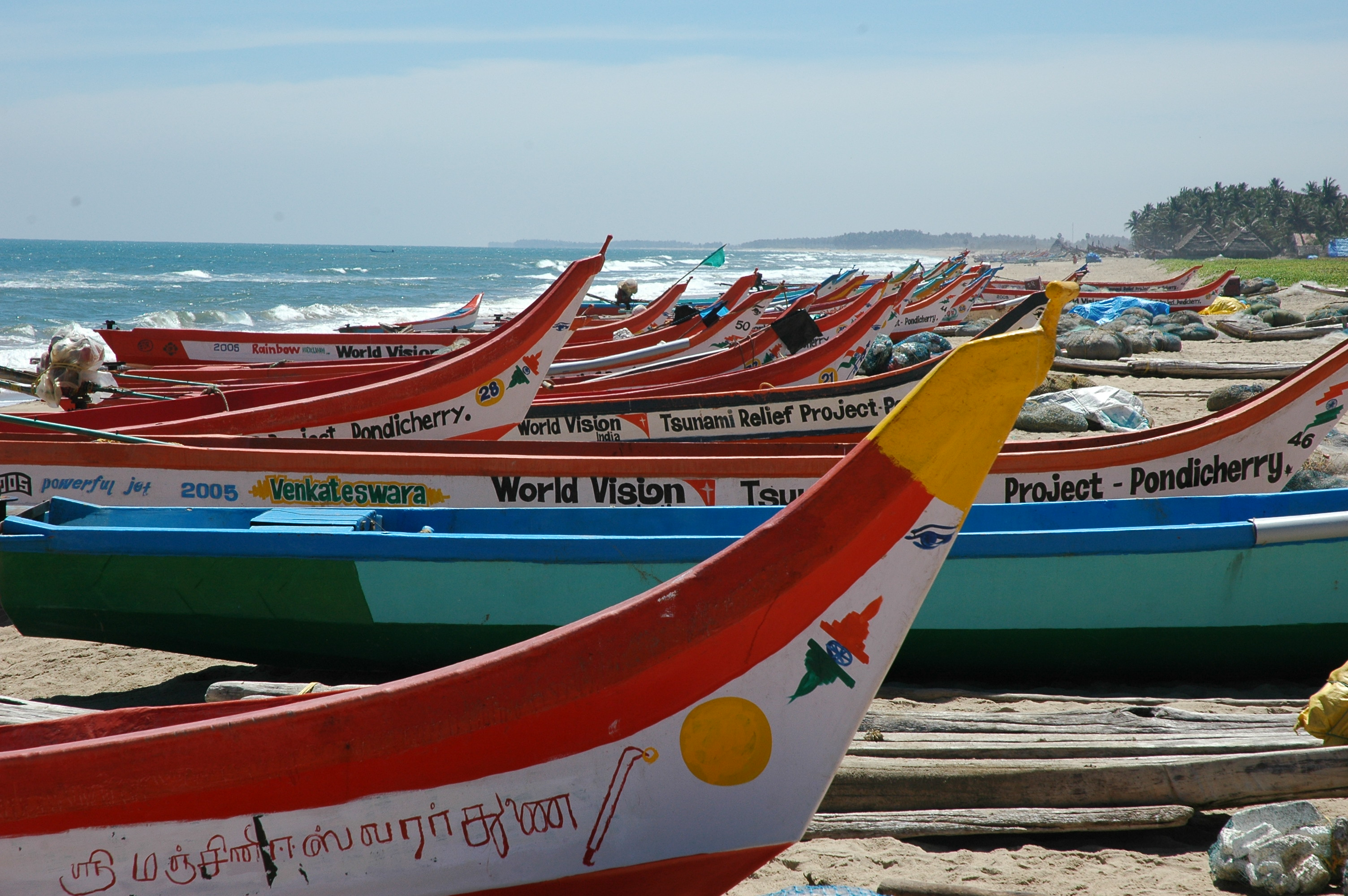 Pondicherry Fishing Boats